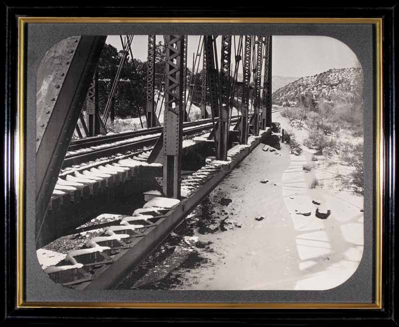 Railroad Bridge, Apache Canyon