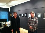 Juror Chris Mahoney and Geoffrey Berliner (Director of Center for Alternative Photography.